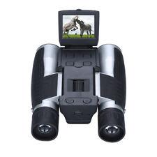 HD 1080P 12X32 Zoom Digital Folding Binocular Camera Telescope for Football Game