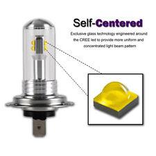 2 X Auto H7 80W 3000LM 6000K CREE LED Fog DRL Driving Car Head Light Lamp Bulbs