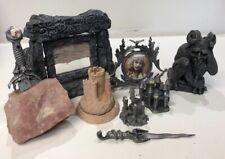 Gothic Fantasy & Legend Castle W/ Incense Burner, Statues Collectibles