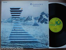 Renaissance-prologue LP Harvest 1c062-93685 GATEFOLD pochette à Clapet Cover