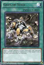 DREV EN086 1ST ED 3X GUTS OF STEEL RARE CARDS