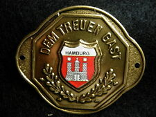 Hamburg new badge stocknagel hiking medallion G9863