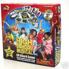 NIB - HIGH SCHOOL MUSICAL 2 - CD BOARD GAME PLAY ON MP3