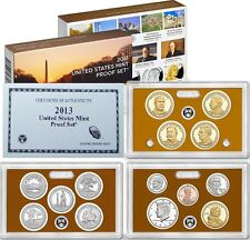 "2013 SAN FRANCISCO (14) FOURTEEN COINS ""S"" MINT CAMEO PROOF SET w/BOX & COA"