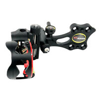 Micro Adjust 5 Pin .019/'/' Compound Bow Sight Black Short Pole Right Hand