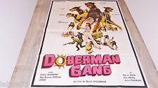 DOBERMAN GANG   !  affiche cinema 1972