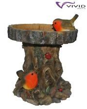 Wetter Wasserfest Detaillierte Baum Kofferraum Futterstelle für Vögel mit