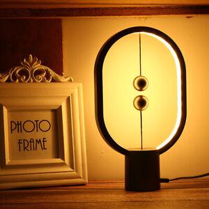 Heng Balance Lamp Ellipse Magnetic mid-air switch USB Powered LED Desk Light