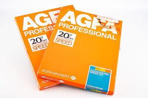 Agfa Agfachrome Speed 312 8x10 Photo Printing Paper 20 Sheets ACS 312 V18