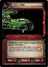 Star Trek CCG 2E Call To Arms I.K.S. Pagh 3R206