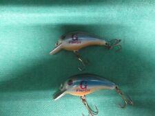 New listing vtg Cordell Big O G-Finish Rattling Crankbait Fishing Lures >< Lot of 2