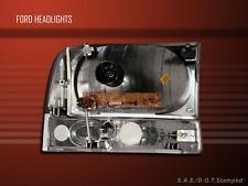 99-05 F250/F350 EXCURSION HEADLIGHTS BUMPER SMOKE 04 03