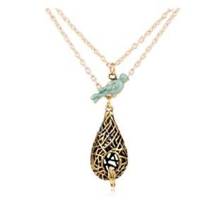 The Vampire Diaries Elena Gilbert Blue Bird Necklace Vampire Diaries Jewellery
