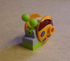 Lego Schnecke Snail Gary Tier Tiere Schnecken Garie orange grün Spongebob Neu