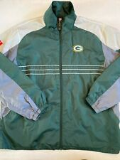 Reebok NFL Green Bay Packers Zip Up Jacket Men's XL