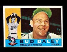 1960 Topps Bud Daley #8 Kansas City Athletics EX+ Crease Free Baseball Card