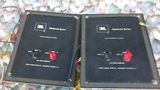 JBL L150A Frequency Buttons and Terminal Speaker Cable Crossover Radiance Series