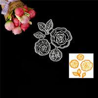 Rose Flower Design Metal Cutting Die For DIY Scrapbooking Album Paper Cards BICA