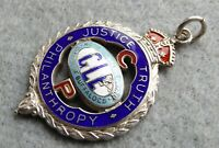 RAOB CP silver enamel medal, 1926, Arthur Fairey, good size and condition.