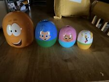 Bubble Guppies Stacking Cups Nesting Surprise Egg Rare Collectible Toy