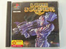 !!! PLAYSTATION PS1 SPIEL Lone Soldier, gebraucht aber GUT !!!