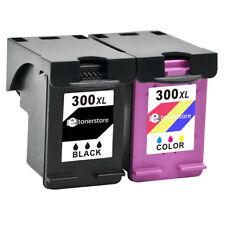 2 PATRONEN für HP 300 XL Photosmart C4680 C4780 C4670 C4600 C4700 Schwarz Farbe