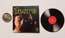 Miniature record album Barbie Gi Joe 1/6  playscale The Doors Jim Morrison