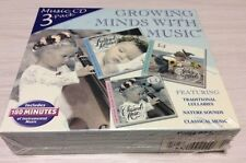 Growing Minds With Music - 3 CD set - over 60 Songs, Includes 180m Instrumental