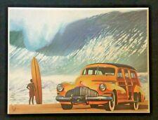 Woodie & Surfing Art Photo of an Illustration - Scott Westmoreland