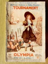 New listing1913 Royal Naval & Military Tournament, Olympia, Official Programme, Gale Polden