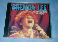 Brenda Lee - You don't have to say you love me - CD Live Recordings
