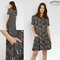 NEW RRP £45 Fat Face Phantom Simone Parakeet Dress                         (252)