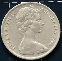 1966 AUSTRALIAN 5 CENT COIN