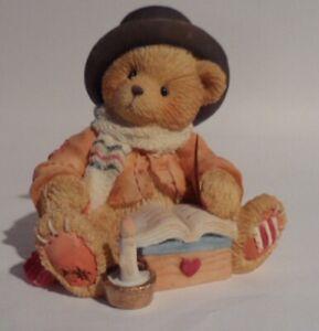 CHERISHED TEDDIES BEAR CRATCHIT - Dickens Figurine - 1994 - Retired