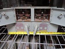 "F.A. FCSAW3/3333 SHUTLBRAK 30A 2p 240V Twin Switch 18"" Wide/Deep Mount Used"
