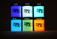 GLOW  IN THE DARK  6 COLOR COSMIC GALACTIC STAR PAINT FREE SUPER  CHARGER