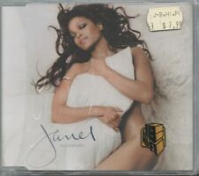 JANET JACKSON Brand New Sealed CD 2001 five trax ALL FOR YOU