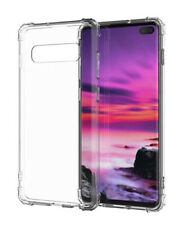 SDTEK Case for Samsung Galaxy S10+ Plus Cover Protection Gel Bumper Soft Clear