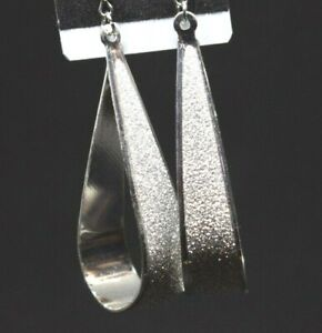 Indian Bollywood AD Necklace Stone Jewelry Silver Tone Earrings American Diamond