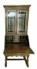 Ethan Allen Royal Charter Oak Secretary Drop Front Bookcase #16-9003 with Key!