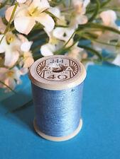 759B / Beautiful Coil Old Wire DMC Cotton Alsa No. 40 Blue Celeste No. 344