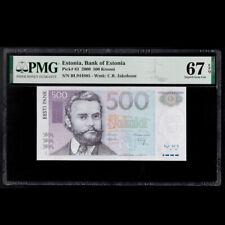 [PMG 67 EPQ] Estonia 500 Krooni, 2000 P-83