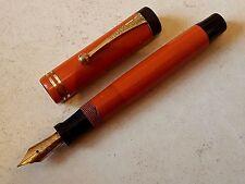 Stylo plume vulpen fountain pen fullhalter penna PARKER DUOFOLD nib writing  鋼筆