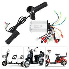 New6 Pin Electric Scooter E-Bike Throttle Grip Handlebar Grips LED Display Meter