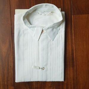 Vintage Sears New Dimension Tuxedo Shirt Size 40 Medium Canadian