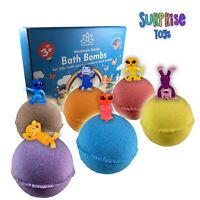 Bath Bombs Kit Set for Kids and Teens with SURPRISE Mini Toys inside