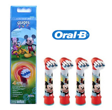 Oral-B Stages Mickey Toothbrush Heads - 4 Pack