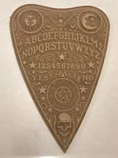 10 inch silicone mold planchette Ouija gothic for resin