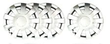 """4 X 16"""" SPRINTER, VW CRAFTER  SOLID SILVER UNBREAKABLE WHEEL TRIM COVERS (4 PCS)"""