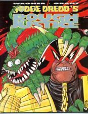 Judge Dredd Rough Justice     First Edition 1991      Titan Books